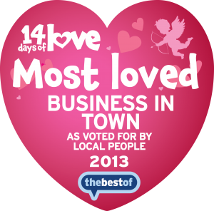 Award - Most Loved Business In Town